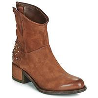 Παπούτσια Γυναίκα Μπότες Airstep / A.S.98 OPEA STUDS Camel