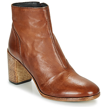 Παπούτσια Γυναίκα Μποτίνια Moma STELLA BRANDY Brown