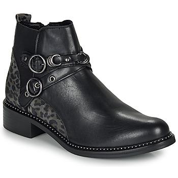 Παπούτσια Γυναίκα Μπότες Regard ROABIL V2 METALCRIS Black