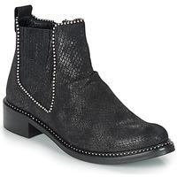 Παπούτσια Γυναίκα Μπότες Regard ROAL V1 CROSTE SERPENTE PRETO Black
