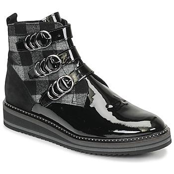 Παπούτσια Γυναίκα Μπότες Regard ROCPOL V3 VERNIS Black