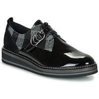 Παπούτσια Γυναίκα Derby Regard ROCSI V3 VERNIS Black