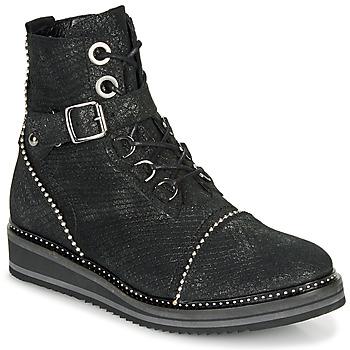 Παπούτσια Γυναίκα Μπότες Regard ROCTALY V2 CRTE SERPENTE SHABE Black