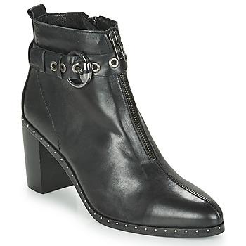 Παπούτσια Γυναίκα Μποτίνια Philippe Morvan BAXEL3 V1 MAIA Black