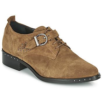 Παπούτσια Γυναίκα Derby Philippe Morvan SAND V4 CRTE VEL Camel
