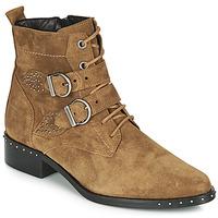 Παπούτσια Γυναίκα Μπότες Philippe Morvan SWAG V4 CRTE VEL Camel