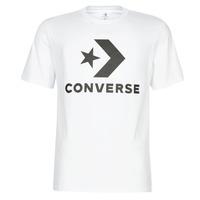 Υφασμάτινα Άνδρας T-shirt με κοντά μανίκια Converse STAR CHEVRON Άσπρο