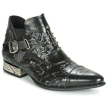 Παπούτσια Άνδρας Μπότες New Rock BRAVA Black