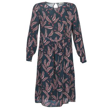 Υφασμάτινα Γυναίκα Μακριά Φορέματα See U Soon 9222127 Marine / Bordeaux