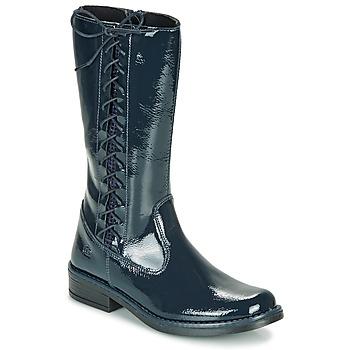 Παπούτσια Κορίτσι Μπότες για την πόλη Citrouille et Compagnie LOUVETTE Μπλέ