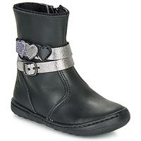 Παπούτσια Κορίτσι Μπότες Citrouille et Compagnie LOMINE Black