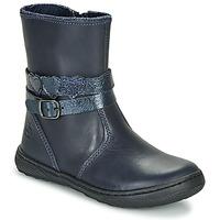Παπούτσια Κορίτσι Μπότες Citrouille et Compagnie LOMINE Μπλέ