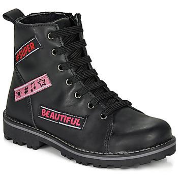 Παπούτσια Κορίτσι Μπότες Citrouille et Compagnie LIBIDOU Black