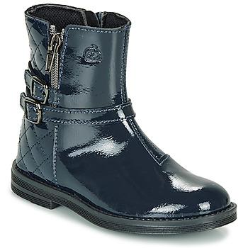 Παπούτσια Κορίτσι Μπότες Citrouille et Compagnie LIMIDOU Μπλέ