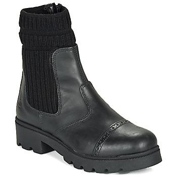 Παπούτσια Κορίτσι Μπότες Citrouille et Compagnie LOBINOUTE Black