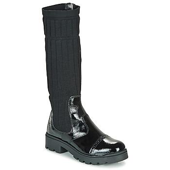 Παπούτσια Κορίτσι Μπότες Citrouille et Compagnie LAPADOU Black