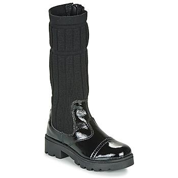Παπούτσια Κορίτσι Μπότες για την πόλη Citrouille et Compagnie LAPADOU Black
