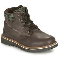 Παπούτσια Αγόρι Μπότες Citrouille et Compagnie HEFINETTE Brown