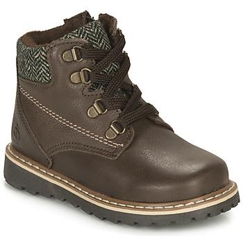 Παπούτσια Αγόρι Μπότες Citrouille et Compagnie LINETTE Brown
