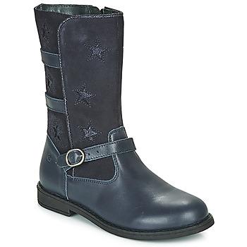 Παπούτσια Κορίτσι Μπότες για την πόλη Citrouille et Compagnie HANDRE Marine