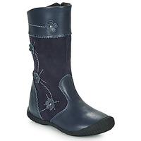 Παπούτσια Κορίτσι Μπότες για την πόλη Citrouille et Compagnie AMATIS Marine