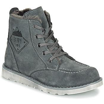 Παπούτσια Αγόρι Μπότες Citrouille et Compagnie LISITON Grey