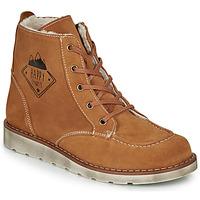 Παπούτσια Αγόρι Μπότες Citrouille et Compagnie LISITON Camel