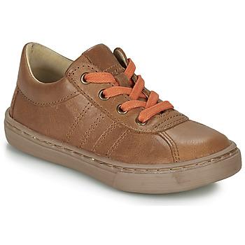Παπούτσια Αγόρι Derby Citrouille et Compagnie LUKITO Camel