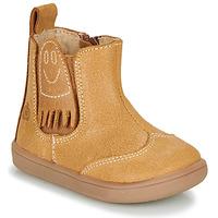 Παπούτσια Αγόρι Μπότες Citrouille et Compagnie LOKO Camel