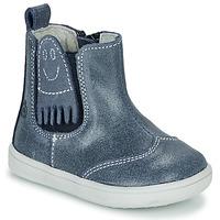 Παπούτσια Αγόρι Μπότες Citrouille et Compagnie LESKIMO Μπλέ
