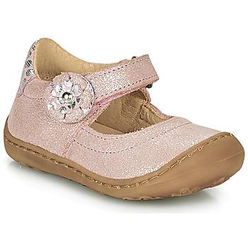 Παπούτσια Κορίτσι Μπαλαρίνες Citrouille et Compagnie LASKIMA Ροζ