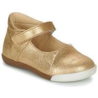 Παπούτσια Κορίτσι Μπαλαρίνες Citrouille et Compagnie LAKALA Gold