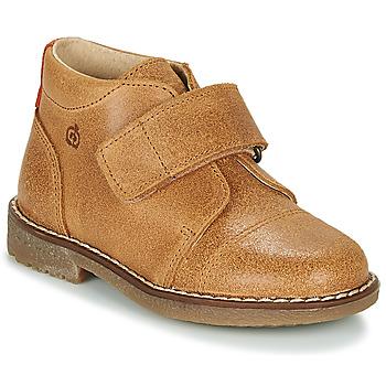 Παπούτσια Αγόρι Μπότες Citrouille et Compagnie LAPUPI Camel