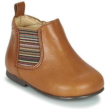 Παπούτσια Κορίτσι Μπότες Citrouille et Compagnie LISETTE Camel