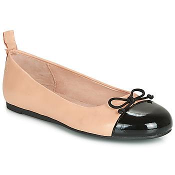 Παπούτσια Κορίτσι Μπαλαρίνες Citrouille et Compagnie LIOGE Nude / Black