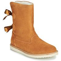 Παπούτσια Κορίτσι Μπότες Citrouille et Compagnie LILINA Camel
