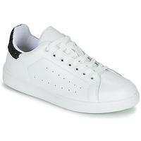 Παπούτσια Γυναίκα Χαμηλά Sneakers Yurban SATURNA Άσπρο / Black