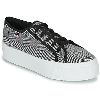 Παπούτσια Γυναίκα Χαμηλά Sneakers Yurban SUPERTELA Black / Άσπρο