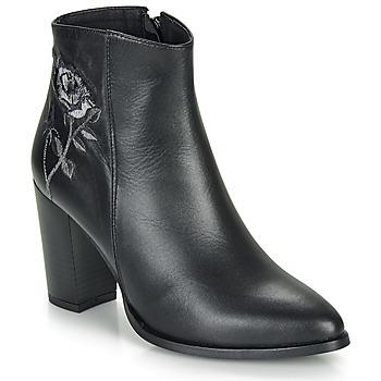 Παπούτσια Γυναίκα Μποτίνια So Size BORDELO Black