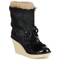 Παπούτσια Γυναίκα Μποτίνια Sonia Rykiel HAIRY Black