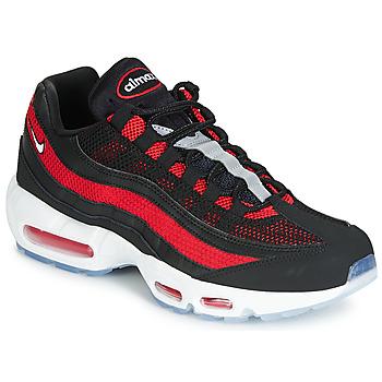 Παπούτσια Άνδρας Χαμηλά Sneakers Nike AIR MAX 95 Black / Red