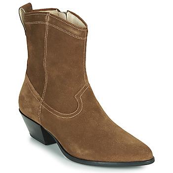 Παπούτσια Γυναίκα Μποτίνια Vagabond EMILY Taupe