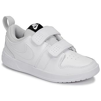 Παπούτσια Παιδί Χαμηλά Sneakers Nike PICO 5 PRE-SCHOOL Άσπρο