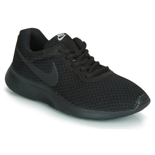 Παπούτσια Γυναίκα Χαμηλά Sneakers Nike TANJUN W Black