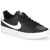 Παπούτσια Γυναίκα Χαμηλά Sneakers Nike COURT ROYALE AC W Black / Άσπρο
