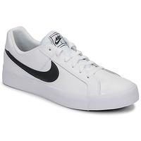Παπούτσια Άνδρας Χαμηλά Sneakers Nike COURT ROYALE AC Άσπρο / Black