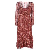 Υφασμάτινα Γυναίκα Μακριά Φορέματα Cream NILA Red