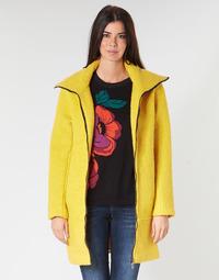 Υφασμάτινα Γυναίκα Παλτό Desigual LAND Yellow