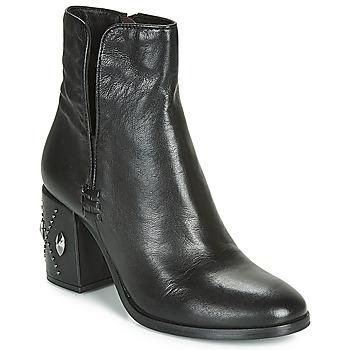 Παπούτσια Γυναίκα Μποτίνια Mjus TWISTER METAL Black