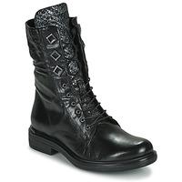 Παπούτσια Γυναίκα Μπότες Mjus CAFE METAL Black / Python